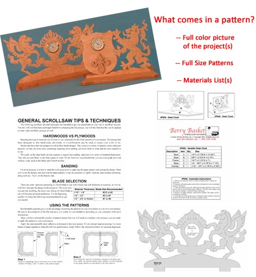 Scroll saw patterns download at berry basket scrollsaw pattern free look fandeluxe Images